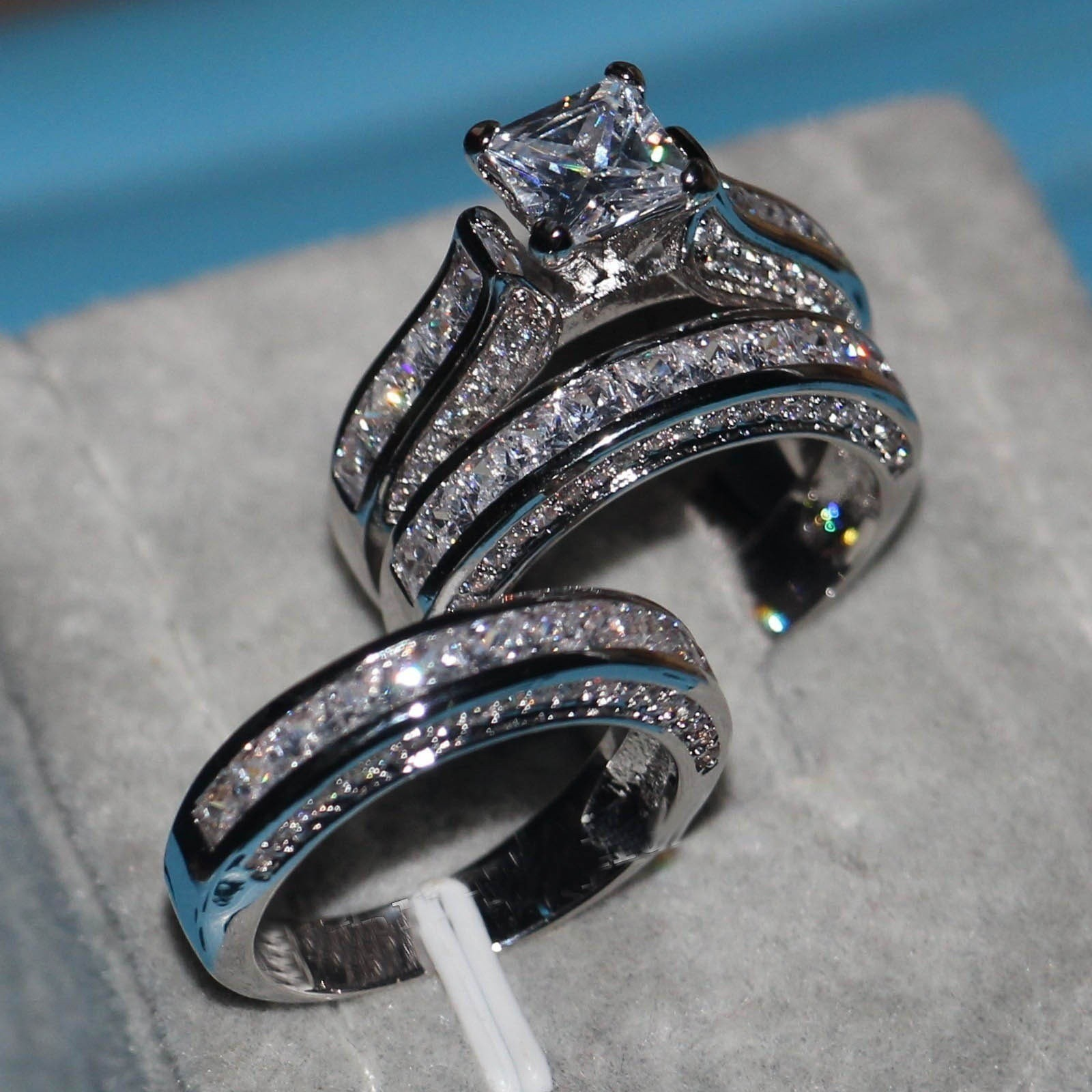 3 Piece Wedding Ring Set Gold Best Of Wedding Ring In The