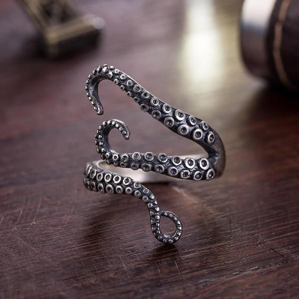 Vintage Adjustable Octopus Rings