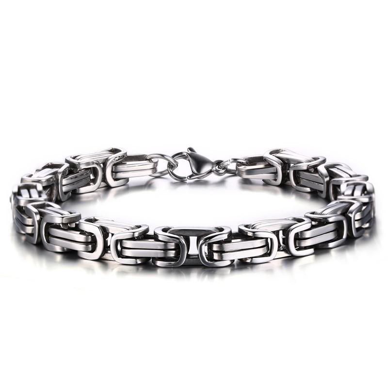 Cool Chain Design 925 Sterling Silver Bracelet