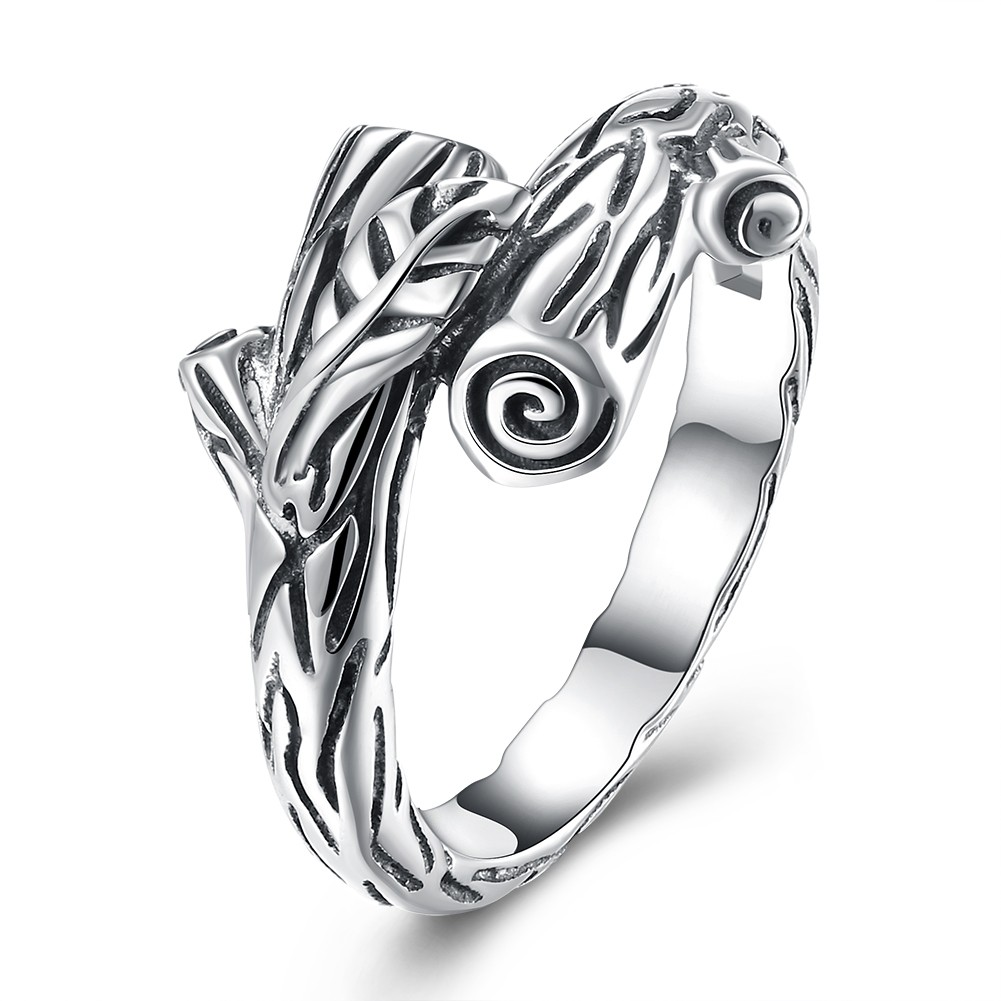 Unique Trunk S925 Silver Promise Rings
