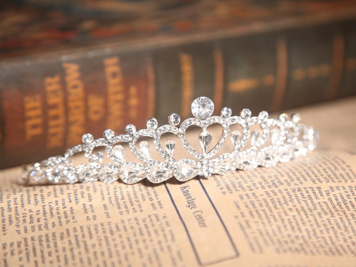 Alloy With Czech Rhinestones Wedding Headpieces