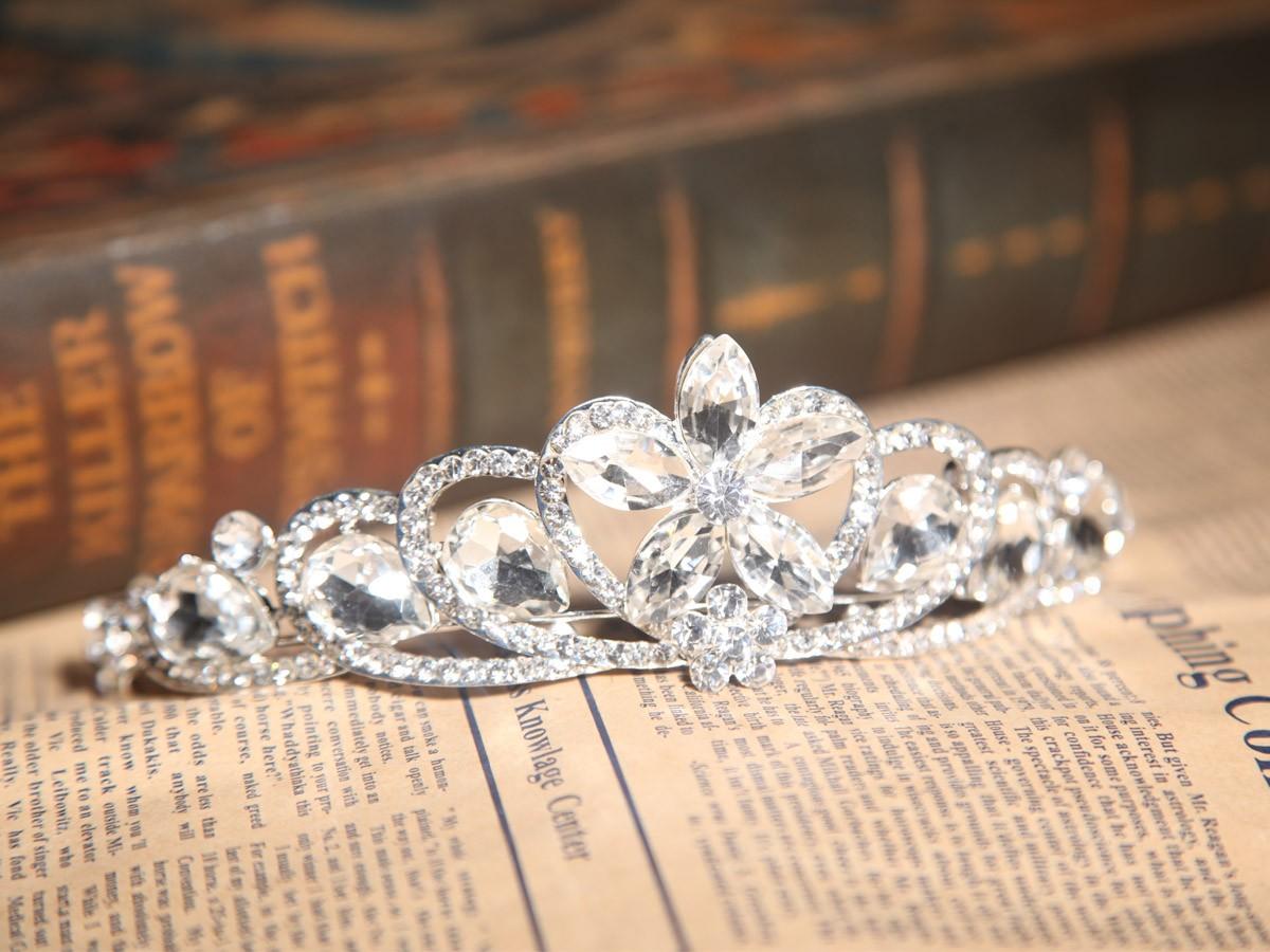 Amazing Alloy With Czech Rhinestones Wedding Headpieces
