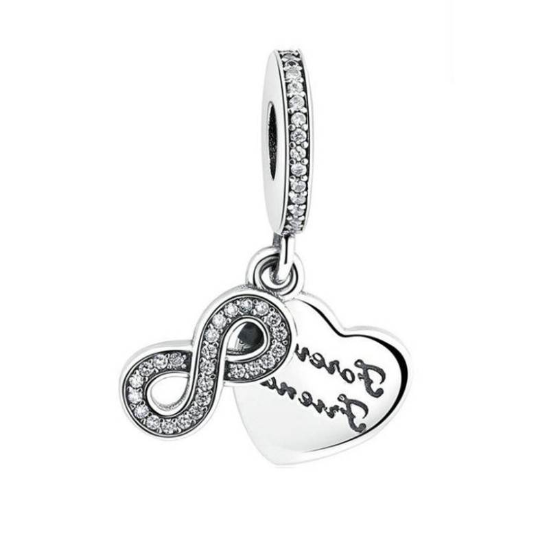 Infinity Charm Sterling Silver