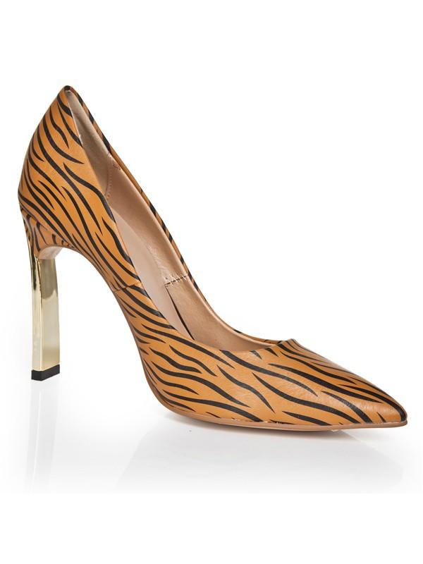 Women's Closed Toe Stiletto Heel High Heels