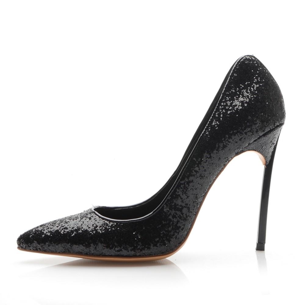 Women's Closed Toe Stiletto Heel Office High Heels