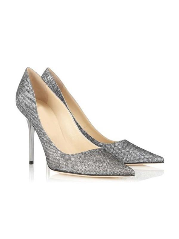 Women's Closed Toe Stiletto Heel Office & Career High Heels