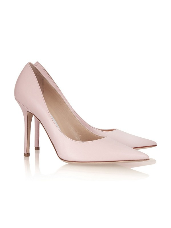 Women's Patent Leather Stiletto Heel Closed Toe High Heels