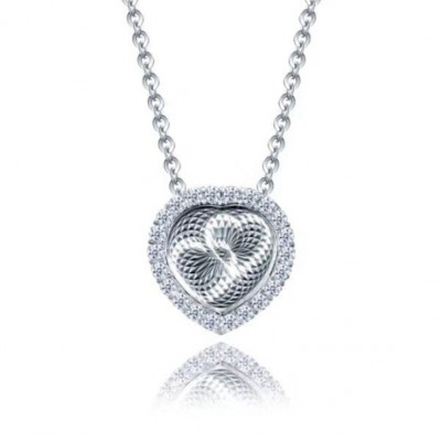 Heart to Heart S925 Silver Necklace