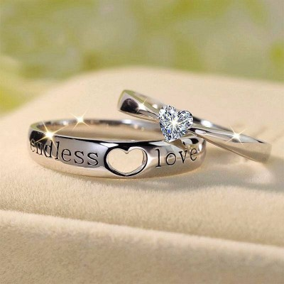 Find Cheap And Matching Promise Rings For Couples Online Lajerrio