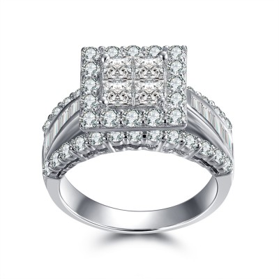 Gorgeous Princess Engagement Rings