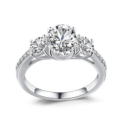 079c5bdaa833e 3 Stone Rings, Unique Three Stone Engagement Ring Settings ...