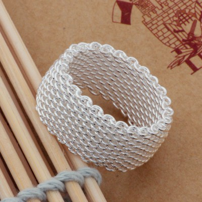 Unisex Unique Net Ring