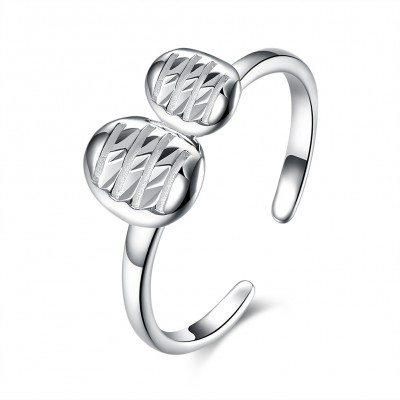 Lovely S925 Silver Promise Rings
