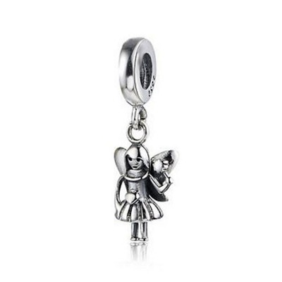 Little Angel Charm Sterling Silver