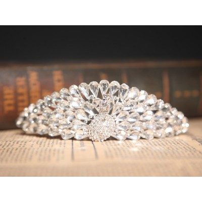 Gorgeous Czech Rhinestones Wedding Headpieces