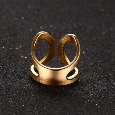 Titanium Special Gold Promise Rings For Her