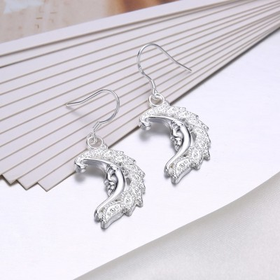 Fashion Design S925 Silver Earrings