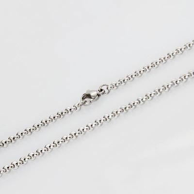 Silver Titanium Steel 3mm Chains