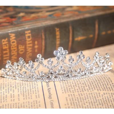 Bright Alloy Czech Rhinestones Wedding Headpieces