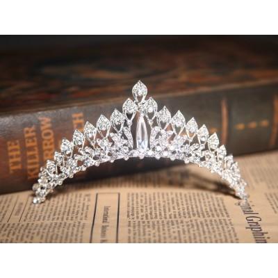 Elegant Clear Crystals Wedding Headpieces