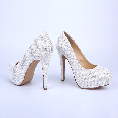Women's Closed Toe Platform Stiletto Heel Platforms Shoes