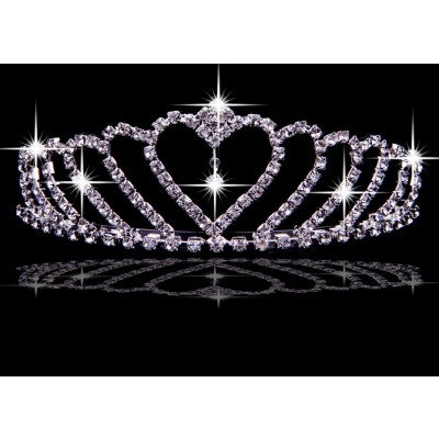 Shinning Alloy Czech Rhinestones Wedding Headpieces