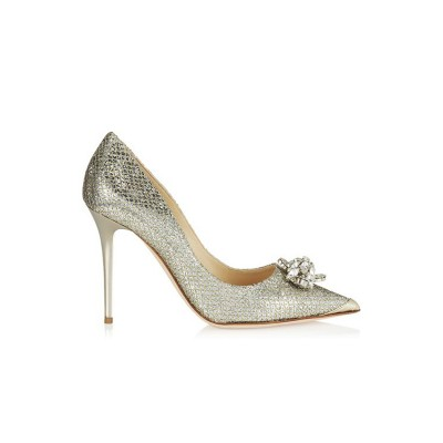 Women's Closed Toe Stiletto Heel With Rhinestone High Heels