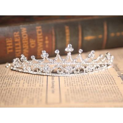 Stunning Alloy Clear Crystals Wedding Headpieces