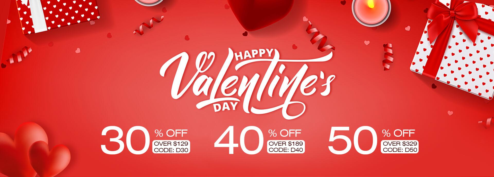 Lajerrio Valentine's Day Sale
