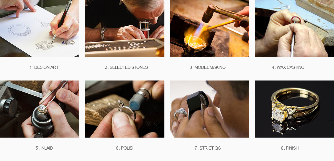 Lajerrio Jewelry Making Process